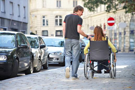 Podpora lidí se zdravotním postižením